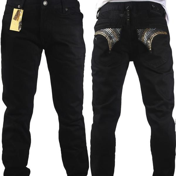 Vender como hot cakes robin jeans hombres cristal recta con alta marca famosa del diseñador de moda size32-42