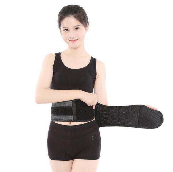 Women Body Shaper Slimming Waist Shaper Belt Girdles Firm Control Waist Trainer Cincher Shapewear Heating Brace Support Protection LJJO2695