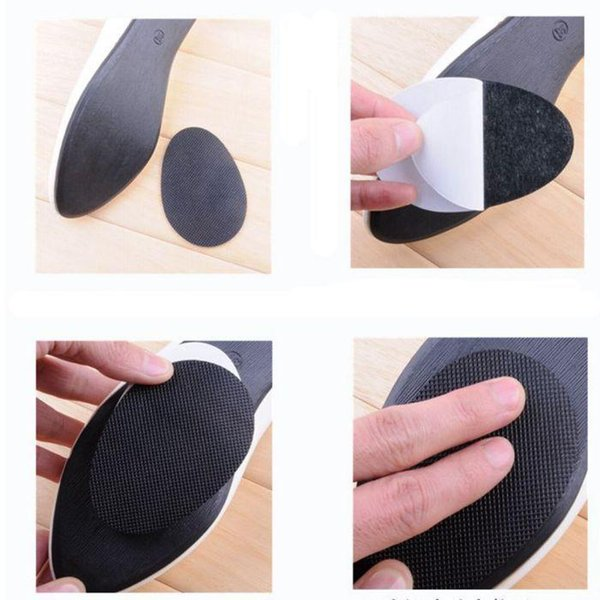New 5 pairs Anti-Slip Stick Shoes Heel Sole Protector Grip Pads Self-adhesive Cushion insoles