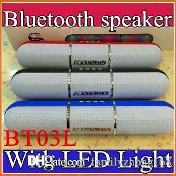 Bunte Impulspillen JHW-V318 führten Blitz-Beleuchtungs-tragbare drahtlose Bluetooth-Sprecher-Eingebaute Mikrofon-Freisprecher-Unterstützung FM USB H-YX