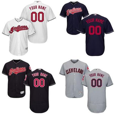 san francisco e0cd5 a15cb Online Cheap Cleveland Indians Mlb Jersey Customized Edwin Encarnacion  Carlos Santana Cody Allen Sports Throwback Baseball Jerseys Cheap Fashion  Men ...