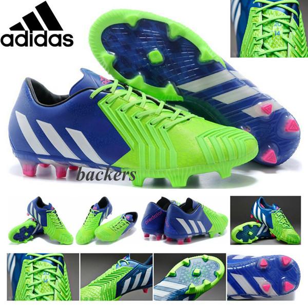 Adidas Predator Instinct AG Schwarz Weiss   Fussballschuh