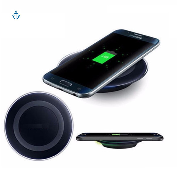 2018 High Quality Universal Qi Wireless Charger For Samsung Note8 Galaxy s7 Edge s8 plus note8 iphone 8 X mobile pad With Package