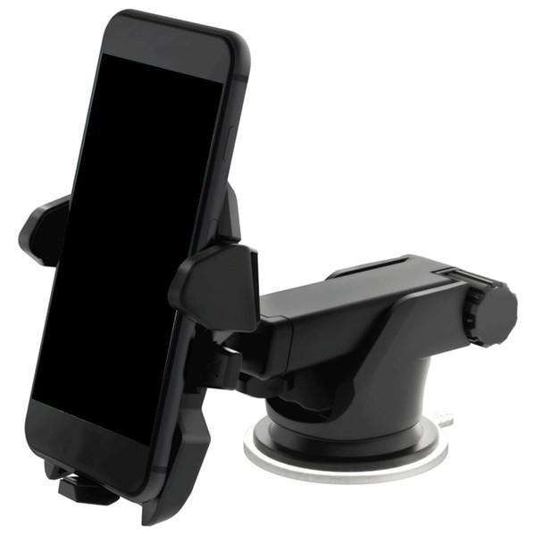 Universal Mobile Car Phone Holder 360 gradi Finestra regolabile del parabrezza supporto del cruscotto del basamento per titolari tutto il cellulare GPS