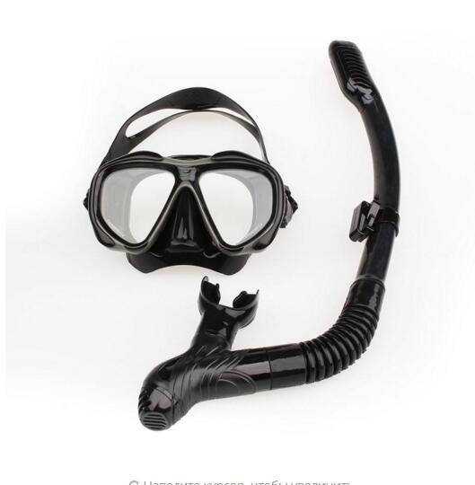 2016 Snorkeling mask anti-fog waterproof swim UV glass equipment, swimming diving equipment can breathe, adult swimming goggles