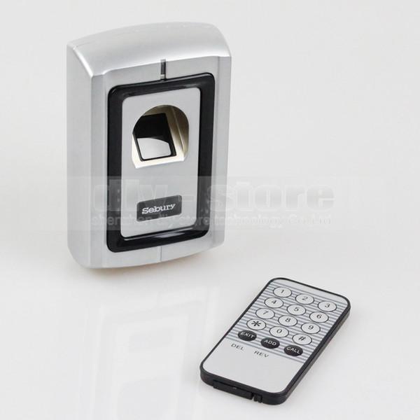 Отпечатков Пальцев Дверной Замок Контроля Доступа Контроллер Безопасности Комплект 1000 Пользователей Металлический Корпус + Пульт Дистанционного Управления Бесплатная Доставка F007