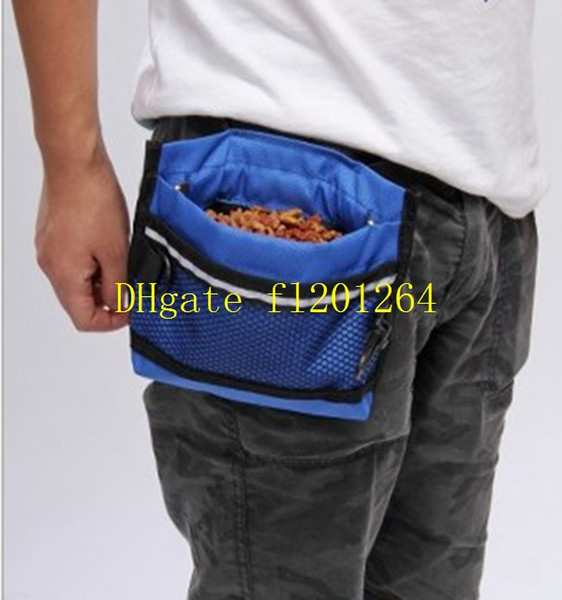 20pcs/lot Free Shipping Pet Dog Treat Bait Waist Pouch Puppy Reward Based Training Bag with Buckle Belt