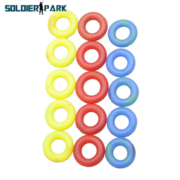 "Colorful 80pcs/Bag Fishing Tackle Tool Mini Adjustable Rubber ""O"" Rings Slip Ring Multi-Color Set for 4.5m Fry Fishing Rod order<$18no track"