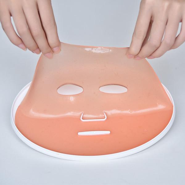 2017 nova Máquina de Maquiagem Rosto Automático Hot Steamer Máquina de Beleza Casa Feita de Colágeno Colágeno Máscara Facial DIY Vegetal Natural Máscara