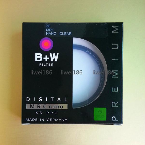 top popular 58mm B+W UV Filter XS-PRO MRC Nano Haze Protective Multi-Resistant Coating Optical glass BW 58 MCUV Filters As Hoya Kenko 2021