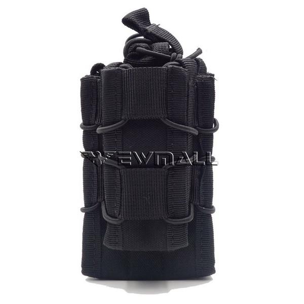 30pcs Tactical Open Top Double Decker Single Rifle Pistol Mag Pouch Magazine Bag