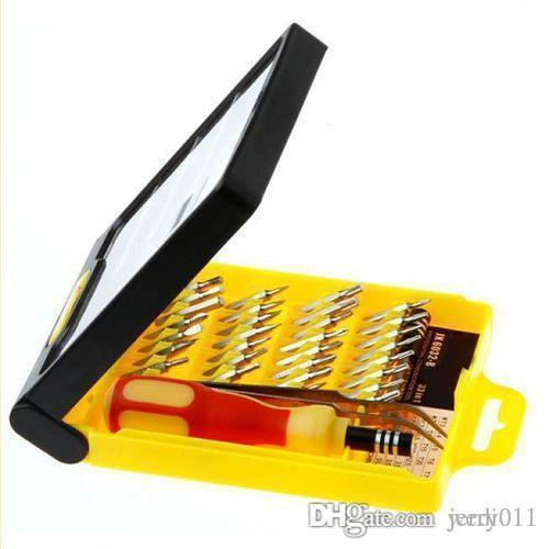 32 in 1 Satz Micro Pocket Precision Schraubendreher Kit Magnetic Schraubendreher Handy Werkzeug Reparatur Box 83653