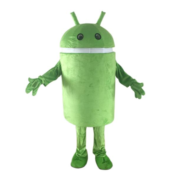 Professional selling Android Robot Mascot Costune Fancy Dress creative costume