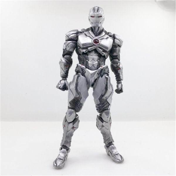 Suzannetoyland Iron Man movie Mark II action figure Action Figure Toy Figure'simulation models Doll Iron Man 2 For Free Shipping