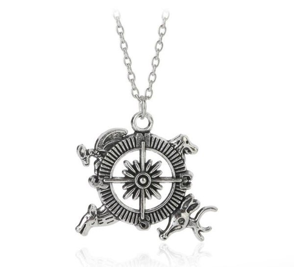 free shipping a song of ice and fire power play power games introduced the theme of inspiration crest pendants compass #3015