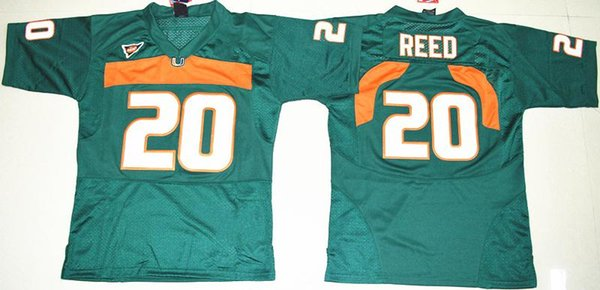release date: a5fdf 9b59b Online Cheap Men Football Jerseys 5 Johnson 20 Ed Reed #52 Ray Lewis #26  Sean Taylor 47 Irvin 87 Wayne Mens College Miami Hurricanes Jersey Cheap By  ...