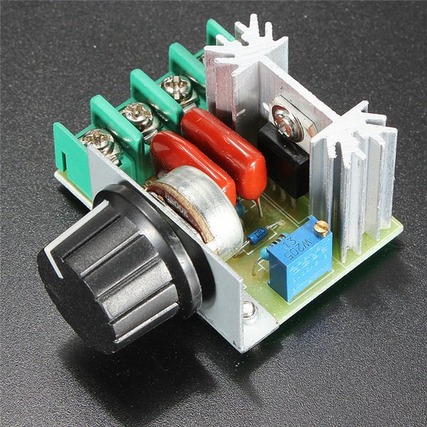 AC 220V 2000W SCR Voltage Regulator Dimming Dimmers Speed Controller Thermostat for lamps, water heater,electric iron