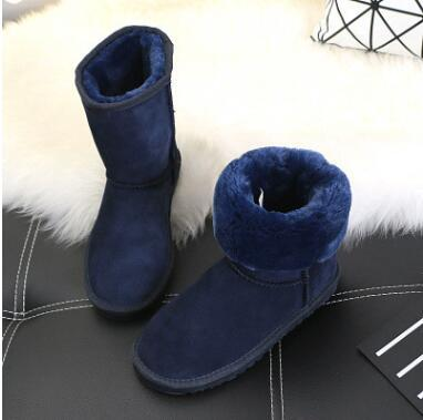 Hot New Boots High Quality Womens Boot Classic Tall Boot Womens Snow Boots Winter Boots leather Classic Australia Boot.