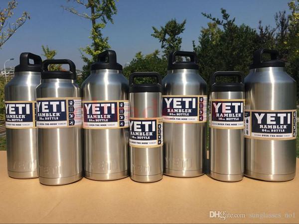 40c4c2139ff in stock 64oz YETI Rambler 304 Stainless Steel Cups Large Capacit Cooler 64  oz yeti Rambler