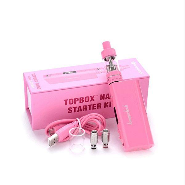 kanger kangertech topbox nano 60w 60 kits de démarrage kit clone boîte kbox mod mods toptank vape réservoir réservoirs atomiseur clearomizer ecig clones