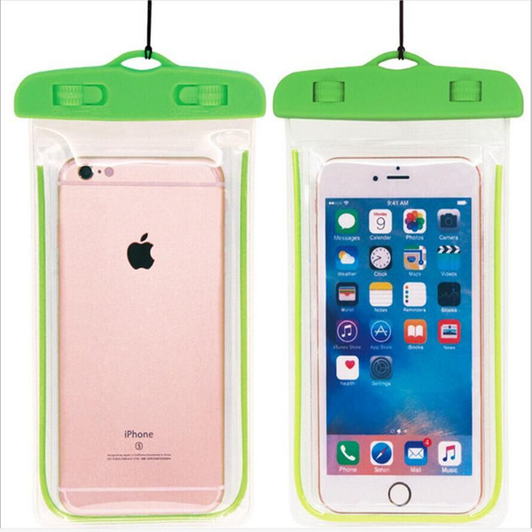 waterproof phone case green