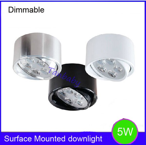 5w dimmable led ceiling light surface mounted indoor led lights 5w dimmable led ceiling light surface mounted indoor led lights ac110vac220v luminaria led fixture aloadofball Images