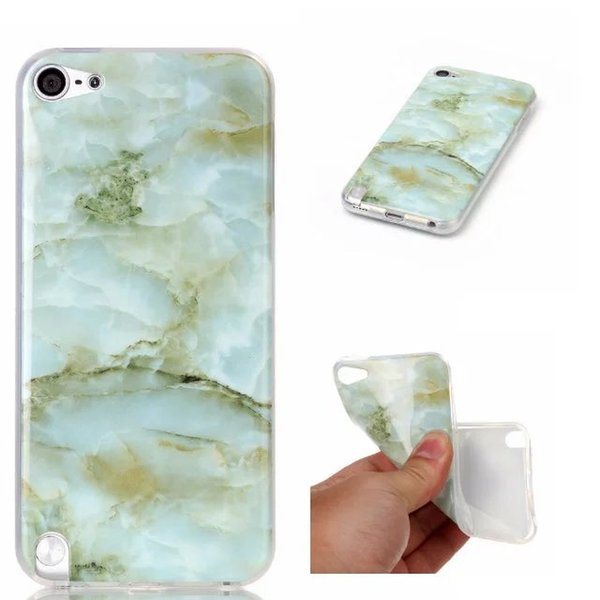 Bling Marble Granite Rock Stone Soft TPU Case For Iphone 7 I7 6 6S Plus I6 SE 5 5S 5C 4 4S Iphone7 Ipod Touch 5 Cell Phone BCover Skin 20pcs