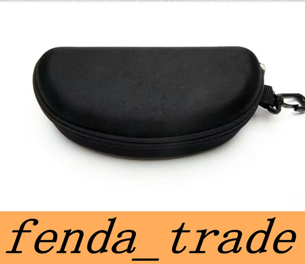 top popular HOT sale Brand Quality black Sunglasses cases for brand Eyewear Only cases MOQ=10 pcs fast ship 2021
