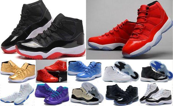 En gros Légende Bleu Chaussures De Basket-ball De Bonne Qualité Hommes 11 Chaussures De Sport Baskets Athlétisme Bottes Femmes Hommes Concord 11s Sneakers Pas Cher 23 56