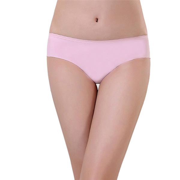 Wholesale-Delicate Hot! 2016 Women's Fashion Invisible Underwear Spandex Seamless Crotch Ma15 xsxl