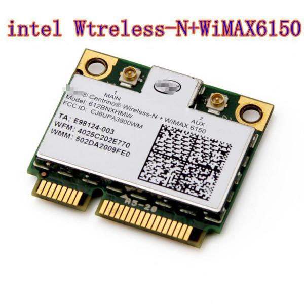 Wholesale- Intel Centrino Advanced N WiMAX 6150 612BNX HMW Half Mini PCI-e Wireless WLAN Card WiMax