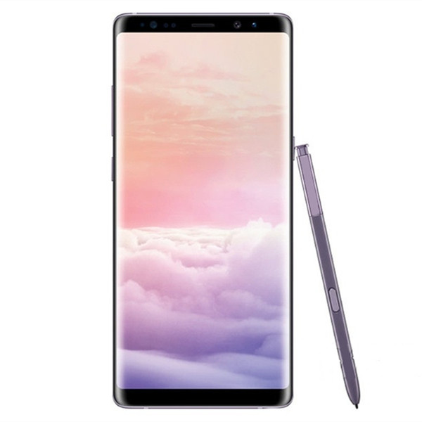 Goophone note 8 9 N9 6.3inch Cell phone Note8 MTK6580 Quad Core 1G 8GB Note 8 1280*720 Show 4G ram 64G rom show 4g lte GPS WIFI Smartphone