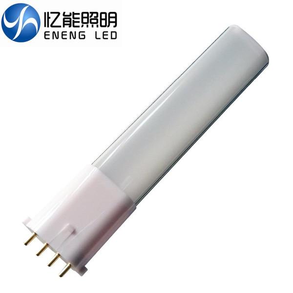 free shipping 2G7 2GX7 6W8W led PL light lamp bulb light with 2835 led AC85-265V Three-year warranty