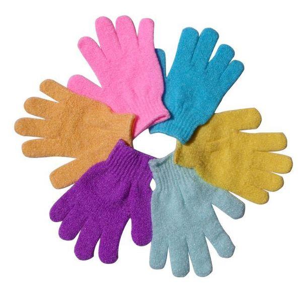 best selling Moisturizing Spa Skin Care Cloth Bath Glove Exfoliating Gloves Cloth Scrubber Face Body
