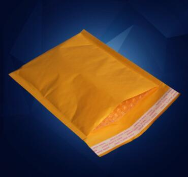 110*130mm Kraft Bubble Mailer Mail Envelope bag Trabsport packing for Cell phones cases cables Power bank Battery