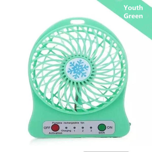 Mini Protable Fan Green