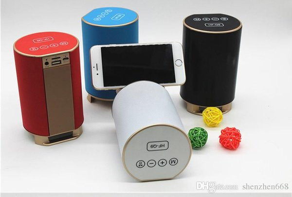 2016new Q9wireless smart Bluetooth speakers subwoofer speaker with TF card FM for computer Mobile MP3 the gift best 29-YX