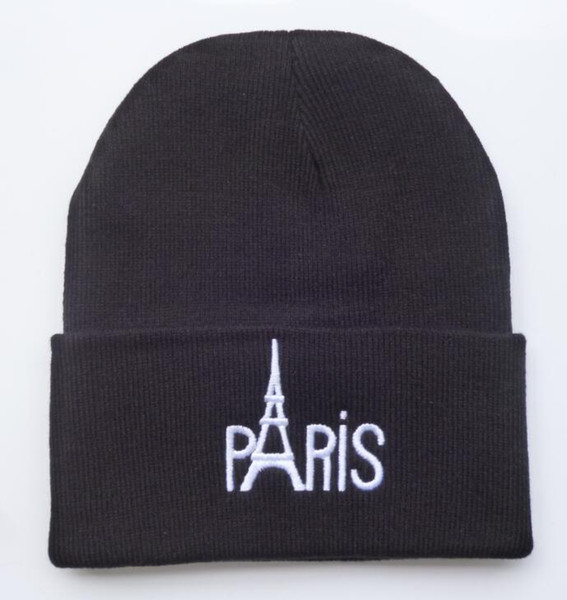 New Style winter hats PARIS letter hats brand new mens women designer knitted beanies caps baseball hats without MOQ Freeshipping HFMY