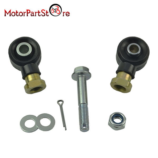 Wholesale- 1 Set Right Left Tie Rod End Kit for Polaris Sportsman 500 HO 2006 2007 2008 2009 2010 2011 2012 ATV Quad Dirt Pit Motor Bike *