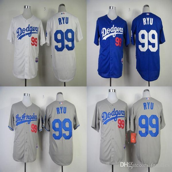 the latest 8d094 96dec mens los angeles dodgers 99 hyun jin ryu green salute to ...