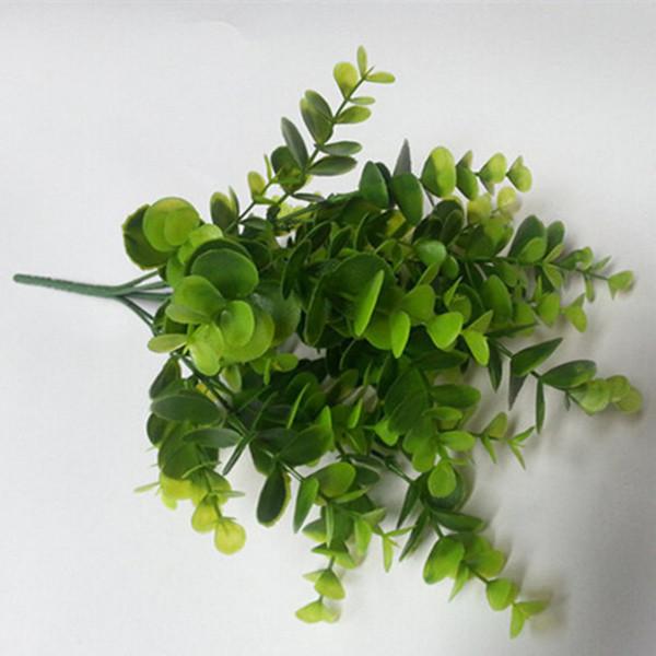 Plastik Eukalyptus Knstliche Pflanzen Grn Bltter Gras Simulation Blumen Fr Zuhause Wohnzimmer Einrichtung Garten Dekoration