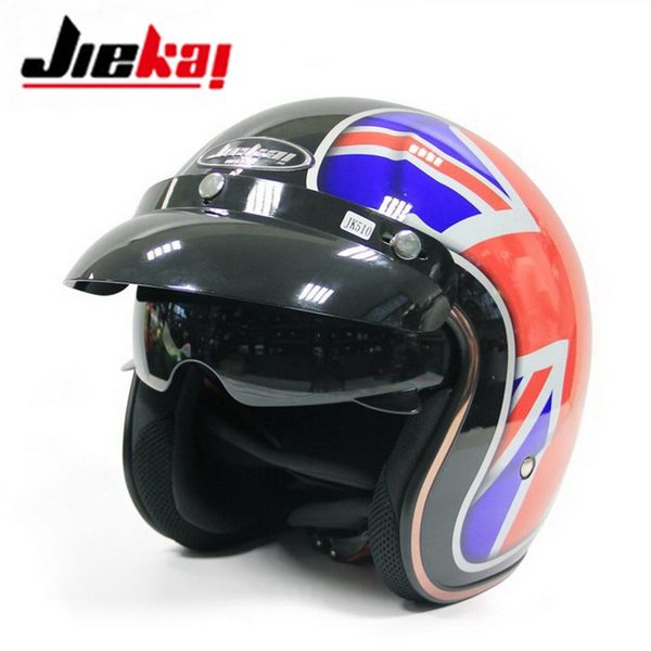 Color : Matte Black, Size : M Personality Carbon Fiber Helmet Men and Women Motorcycle Retro Half Helmet Four Seasons Prince Helmet Electric Car Helmet