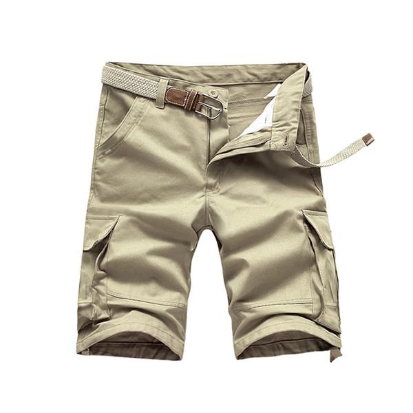 0eac540cd8 2016 Nuevo Hombre Cargo Pantalones Masculinos Multi-Bolsillos Pantalones de Camuflaje  Casual Ejército Militar Pantalón