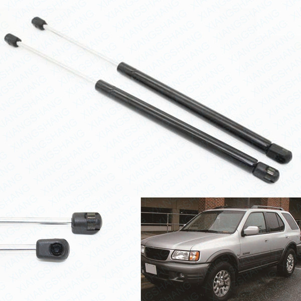 2pcs Truck Rear Window Lift Supports Shocks Car Gas Struts fits for Honda Passport 1994-2002 Isuzu Amigo Rodeo Wizard 1991-2004