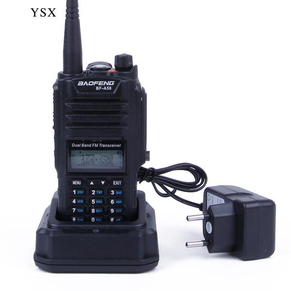 Wholesale-Baofeng (pofung) BF-A58 radio walkie talkie,5W radio, waterproof vhf/uhf radio sister baofeng a52 888s uv82 uvb2 uv-5r px-578