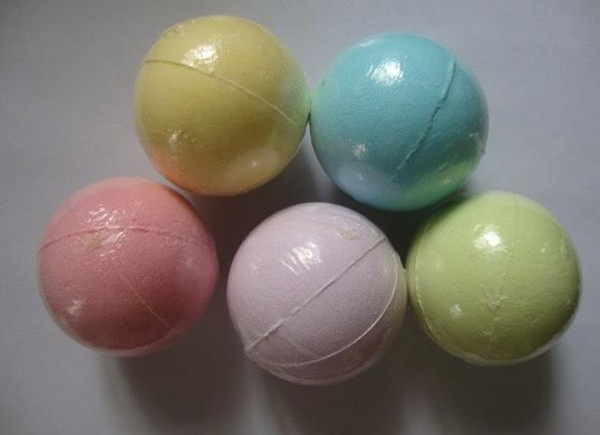 top popular beauty 10g Random Color! Natural Bubble Bath Bomb Ball Essential Oil Handmade SPA Bath Salts Ball Fizzy Christmas Gift for Her 2021