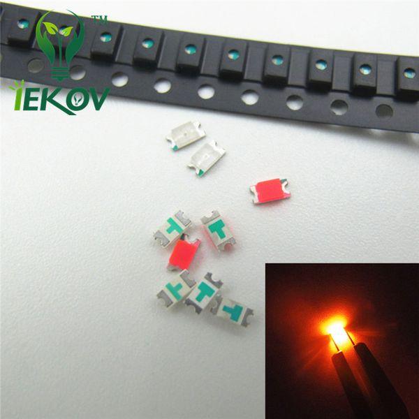 1000pcs 1206 SMD Orange/Amber led 1.8-2.1V Super Bright Light Diode Water 600-610nm High quality DIY SMD/SMT Chip lamp beads