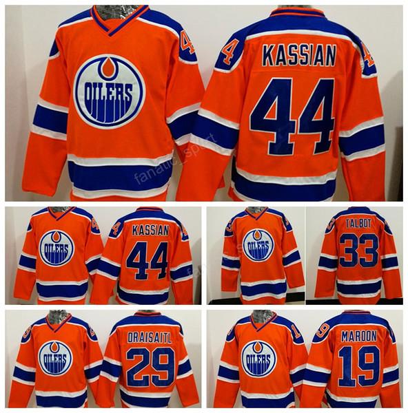 lowest price 82aa4 a70fa 2019 2017New Style 33Cam Talbot Jersey Men Edmonton Oilers 19Patrick Maroon  44Zack Kassian Hockey Jerseys Ice Orange 29Leon Draisaitl From Since, ...