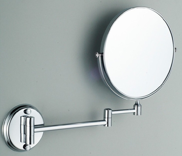 2-Face Magnify Wall-mounted bathroom mirror cosmetic double-sided double-sided folding magnifier Wall Beauty make-up mirror Beauty 460