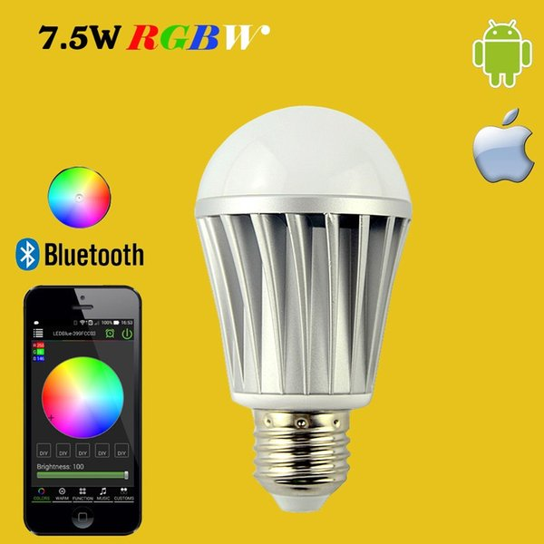 Hot Bluetooth Bulb 4.0 Smartphone App Remote Control Led Light Sleeping  Room Lamp Smart Home Mi